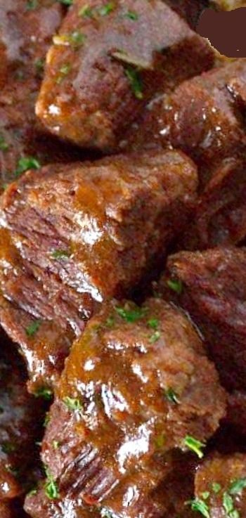 Garlic and Rosemary Beef Tips images