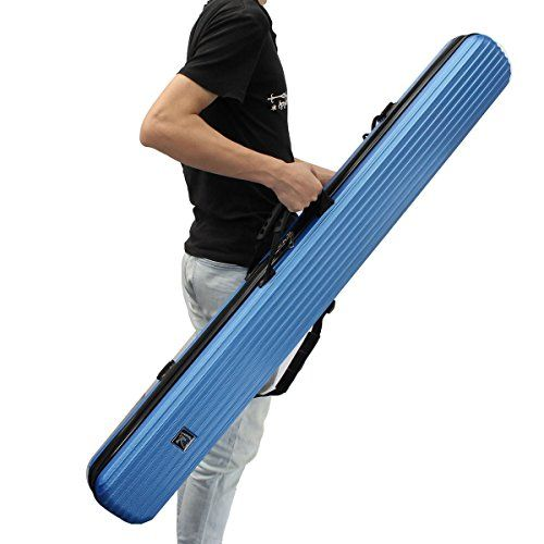 Lopez 1 25m 49 2in Portable Waterproof Fishing Rod Bag Hard Abs