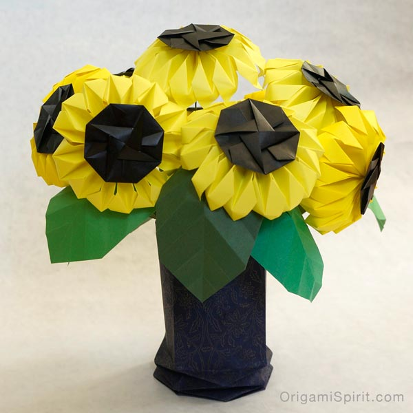 Photo of Origami Sunflower -Bring Joy and Happiness to Your Life!