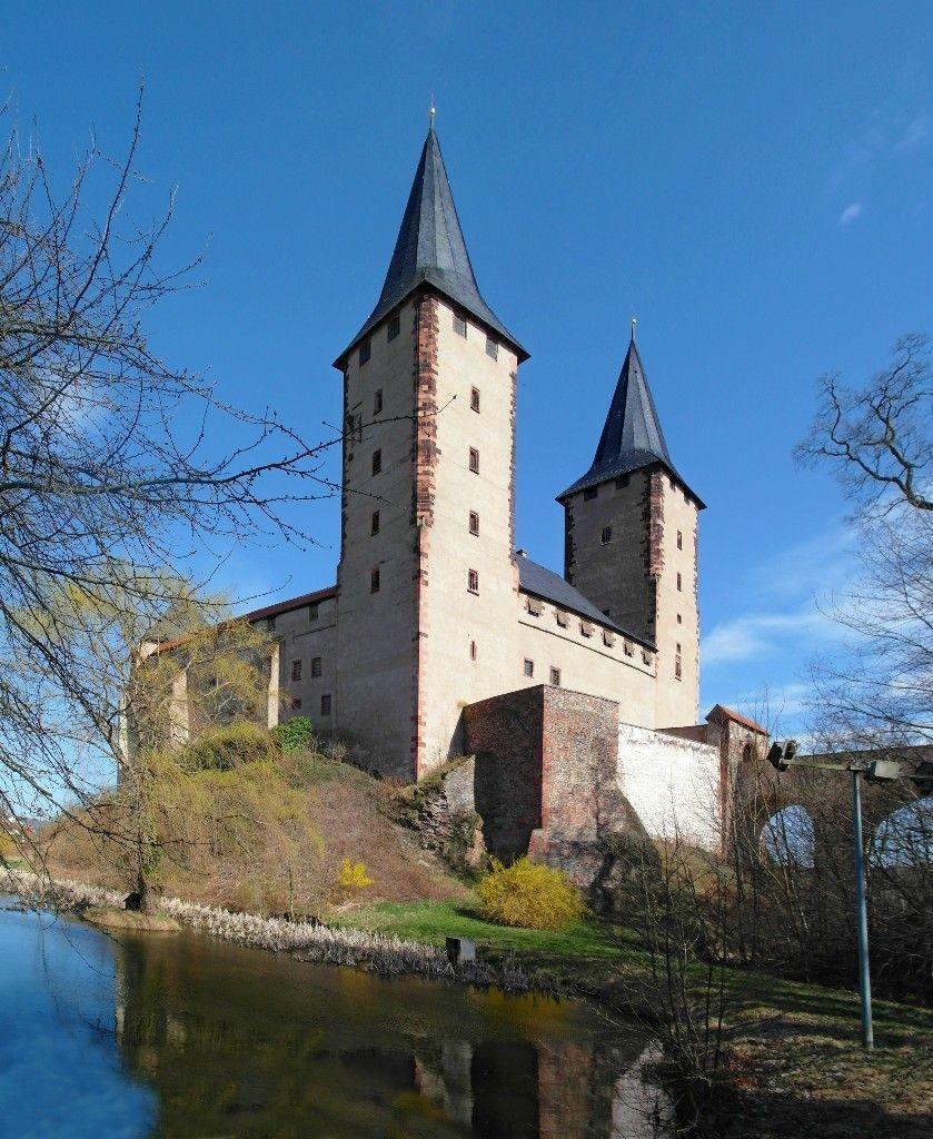 Schloss Rochlitz Sachsen Rochlitz Gebaude Orte