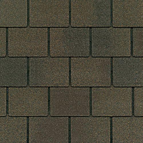 Harvest Brown Gaf Designer Roof Shingles Swatch Roofing Systems Slate Shingles