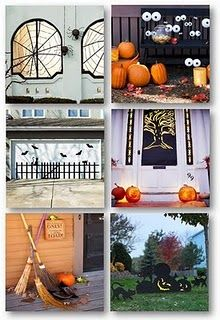 bhg halloween ideas picket fence on my car port just need lights to illuminate