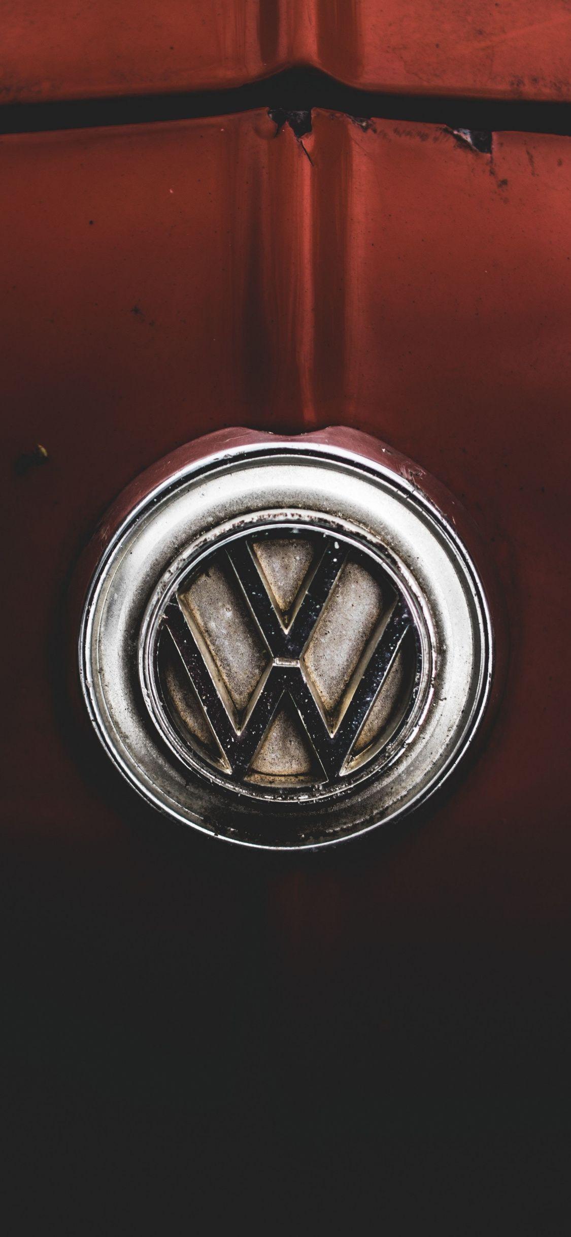 Volkswagen Logo 1125x2436 Wallpaper Volkswagen Volkswagen Logo Hd Wallpaper