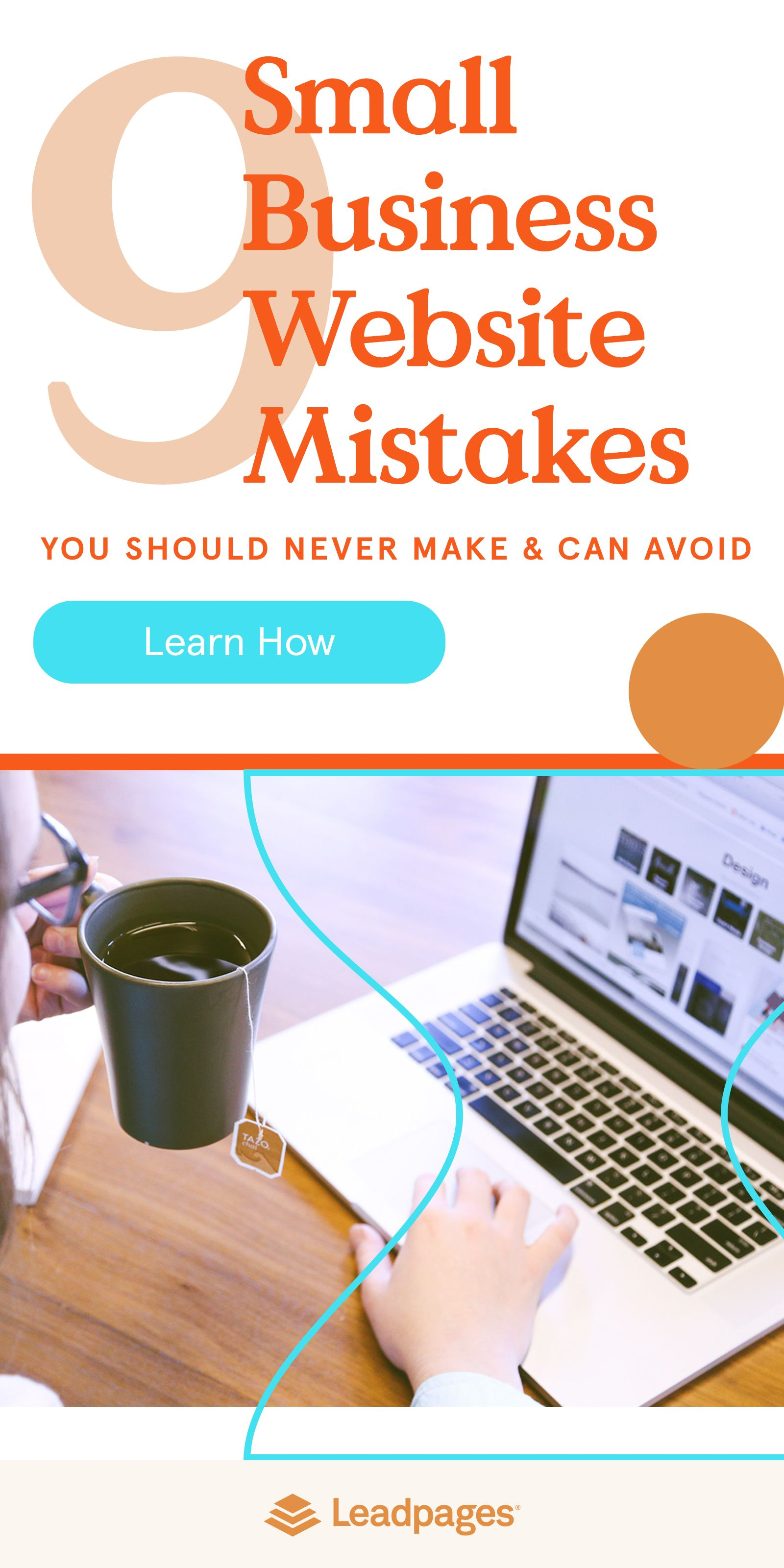 The 9 Small Business Website Mistakes You Should Never Make Con Immagini