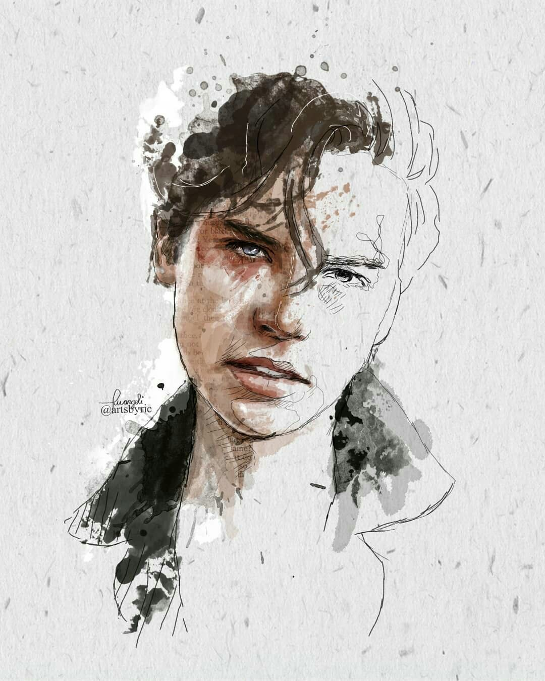 This Is Fricking Awesome Art Who Ever Did This Deserves An Applause Disegni Di Celebrita Disegno Ritratti Sfondi