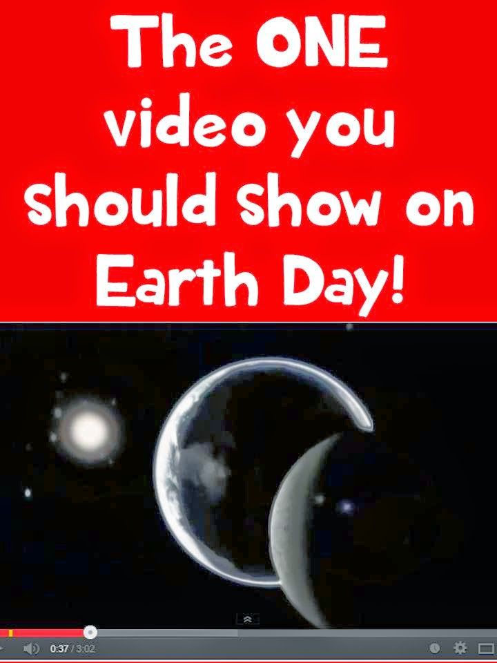 If you are going to show any video on Earth Day, show this one! -- REPIN and visit this blog later for lots of FREE teaching ideas and resources. www.promotingsuccess.blogspot.com