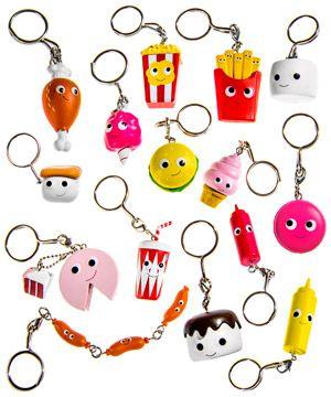 Kidrobot Yummy World Fresh Friends Key Chain Orange Slice