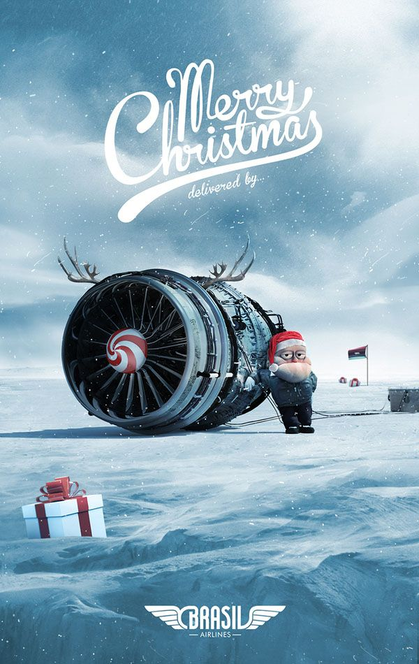 40+ Amazing Christmas Advertising Ideas for Product Promotion ...