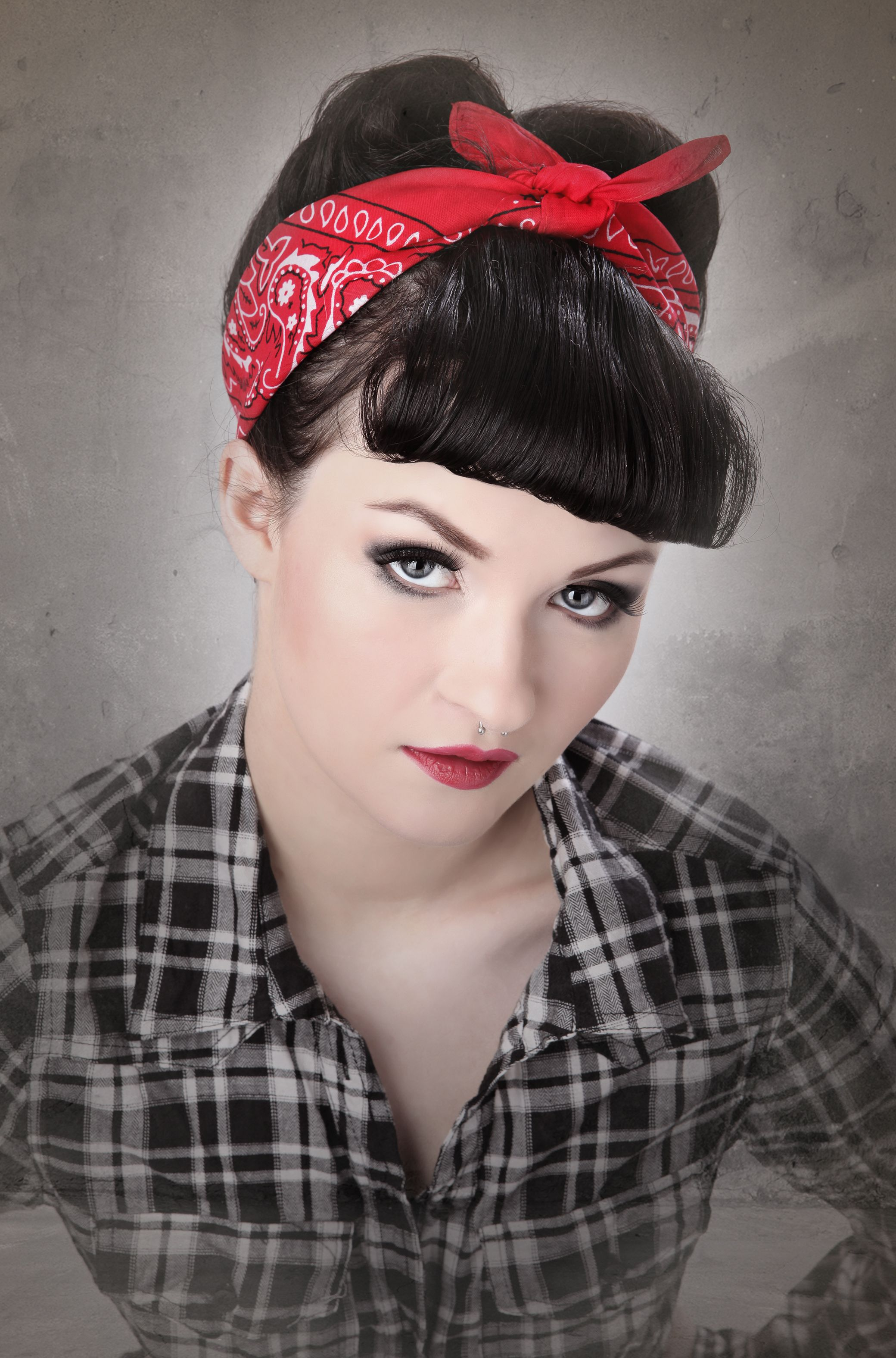 Girl Rockabilly Hairstyles