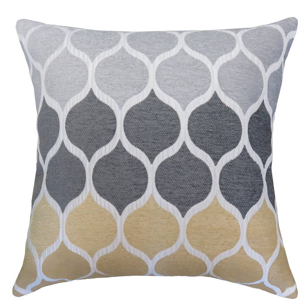 Bed Bath And Beyond Decorative Pillows Magnificent Product Image For Hollis Square Throw Pillow In Goldgrey  Ideas Design Inspiration