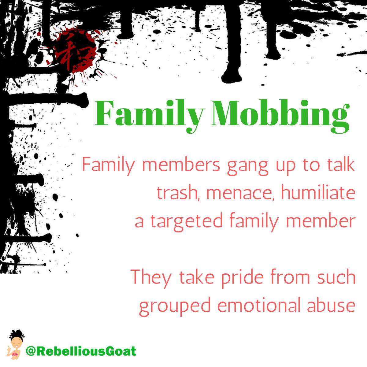 Mobbing in der familie