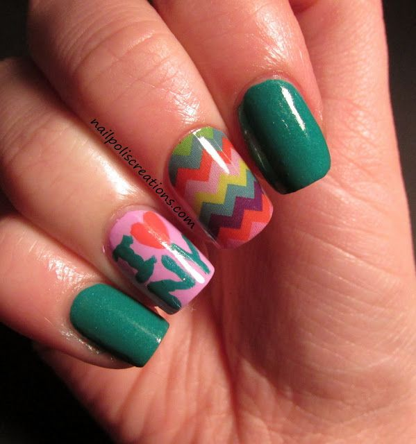 Jamberry Nail Review/ New York Vacation Nails | Places to visit ...