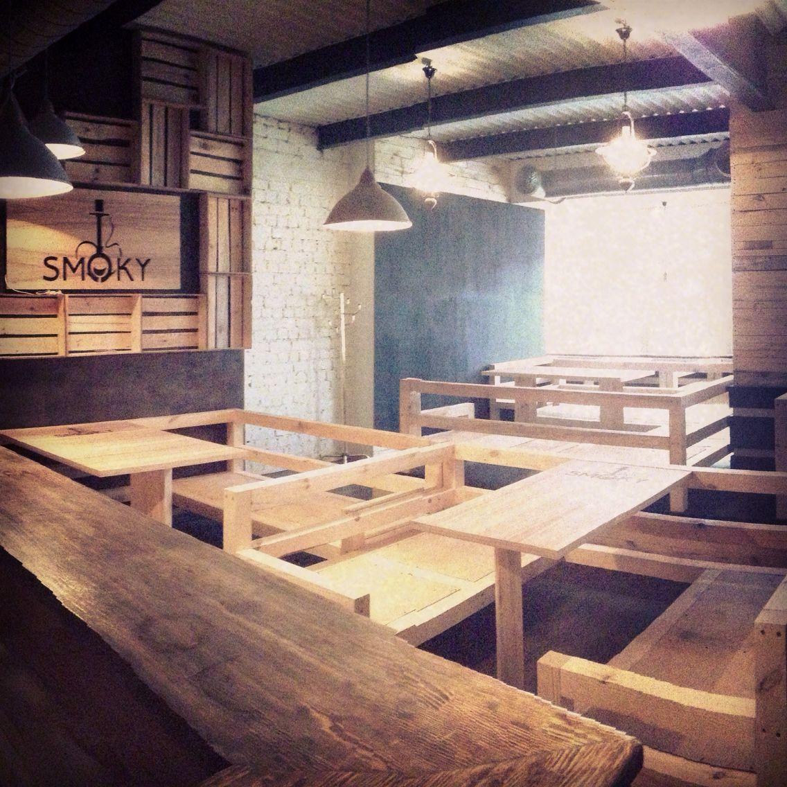 Smoky Hookah Bar.