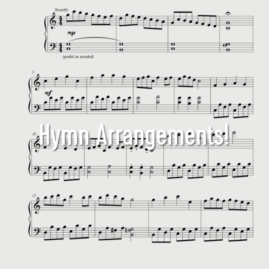 Digital sheet music!