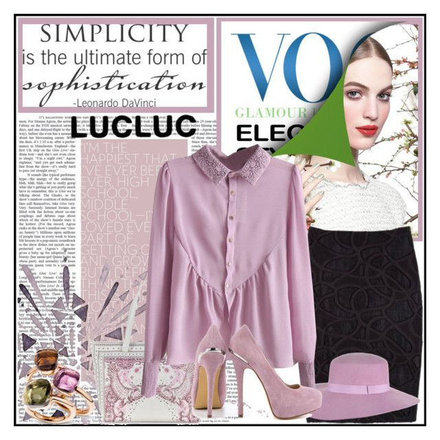 """""""Lucluc I-03"""" by shambala-379 ❤ liked on Polyvore featuring Chanel, Class Roberto Cavalli, ShoeMint and Pomellato"""