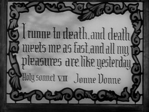 Stills: The Seventh Victim (Mark Robson, 1943) text: The Passion of Michel Foucault, James Miller