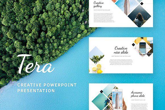 Tera - Summer PowerPoint Template @creativework247 Templates