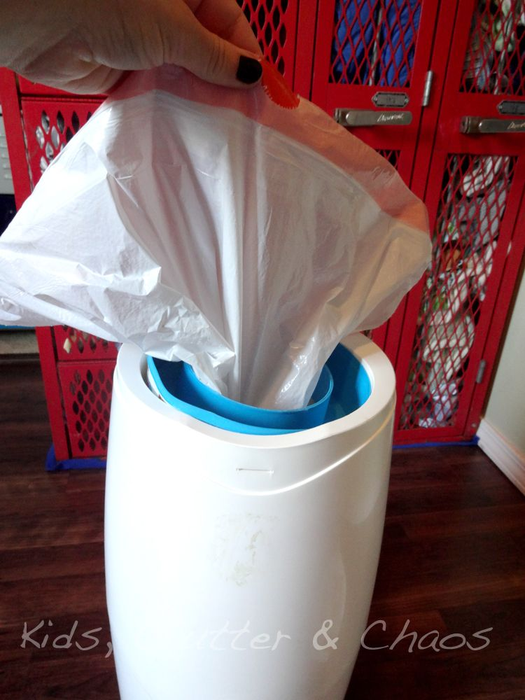 Use A Garbage Bag In The Diaper Genie