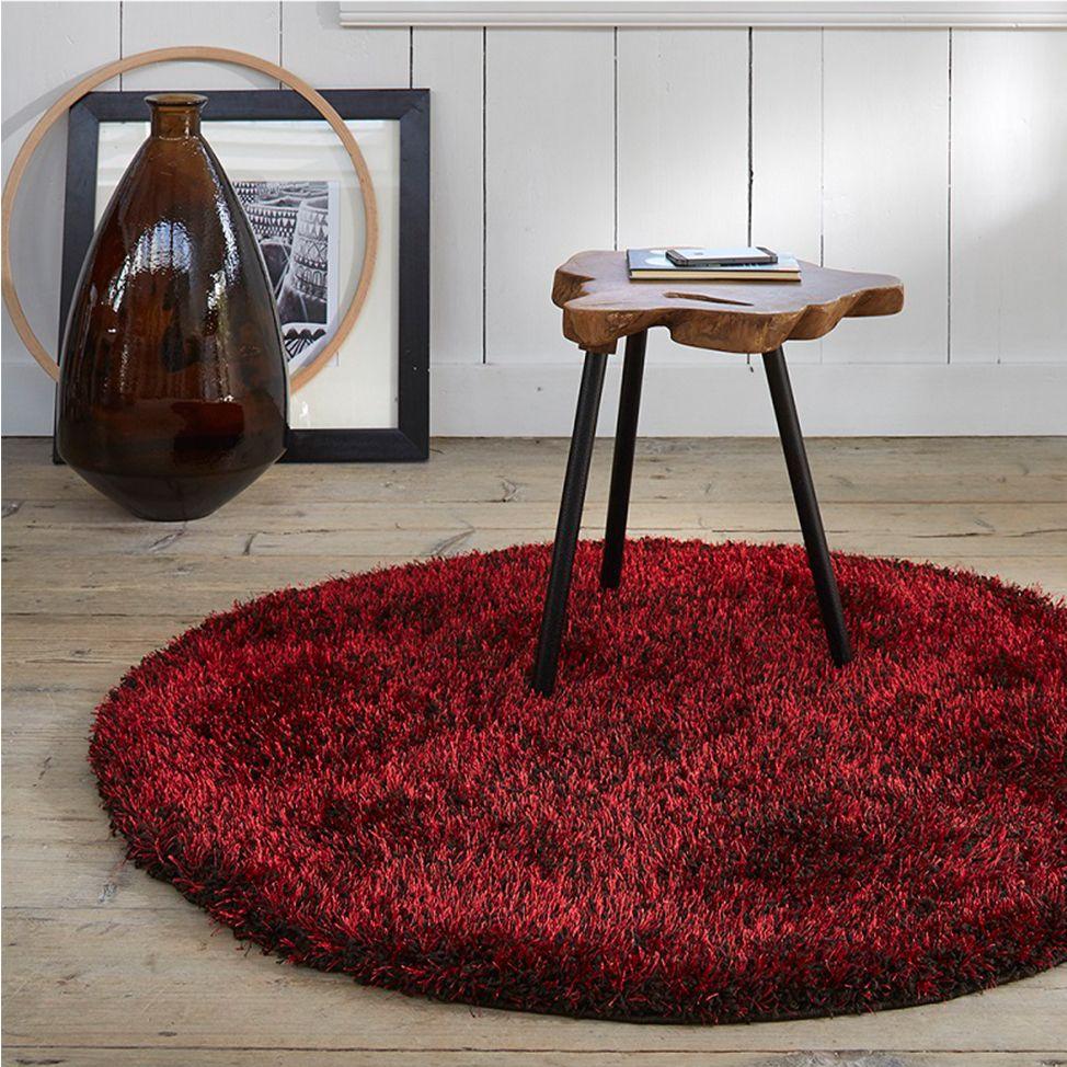 Esprit Hochflor Teppich Cosy Glamour Rot Braun Teppich Hochflor Teppich Große Teppiche