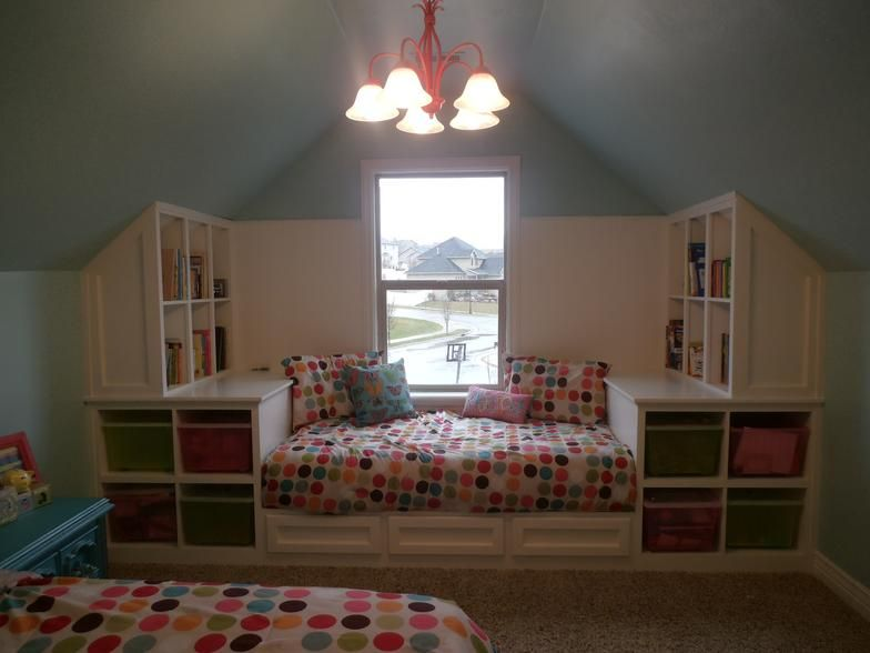 Beds For Attic Rooms over 50 different attic design ideas. http://www.pinterest