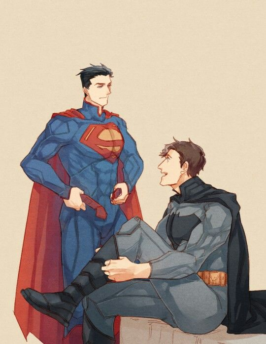 Superman and batman costum change From tumblr   My OTP'S ...
