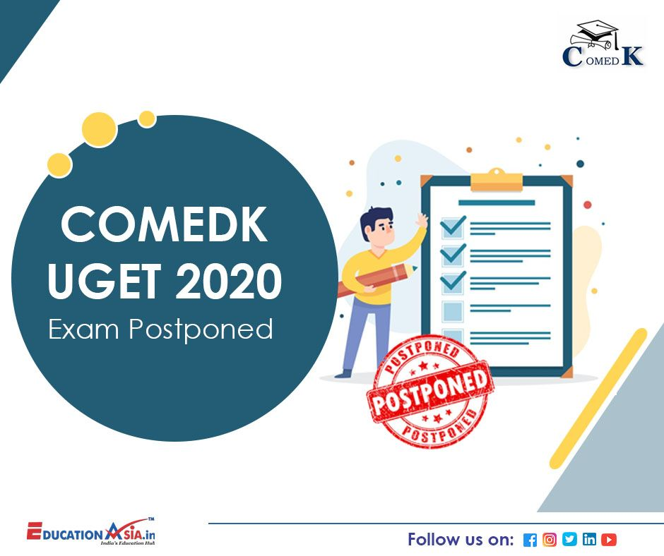Comedk Uget 2020 In 2020 Exam Dating Education Related