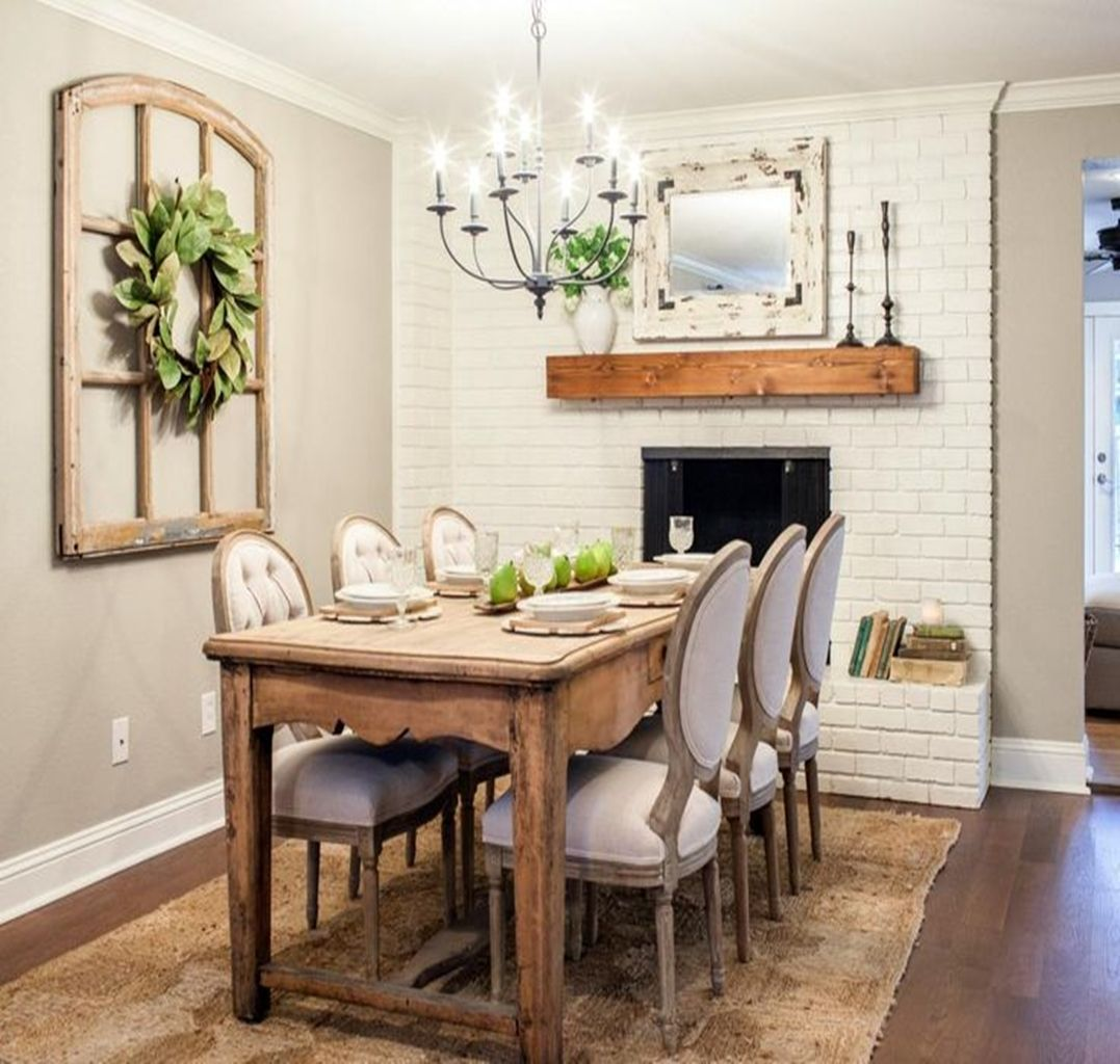 12 Rustic Dining Room Ideas: 12 Mirror Decoration Ideas To Brighten Your Home