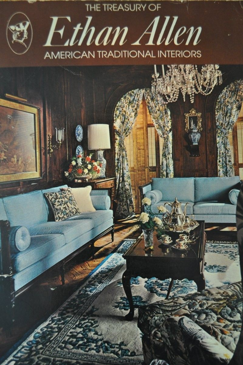 Vintage Catalog 70s Ethan Allen Furniture 1974 Childhood Memories