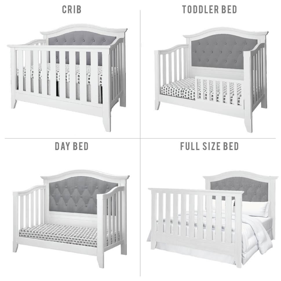 Three Posts Baby Kids Essex 4 In 1 Convertible Crib Reviews Wayfair Cama Cunas Para Bebes Decorar Habitacion Bebe Cama Cunas Para Ninos White 4 in 1 cribs