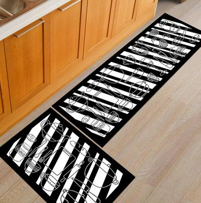 colorful non slip kitchen mats and rugs | living room area