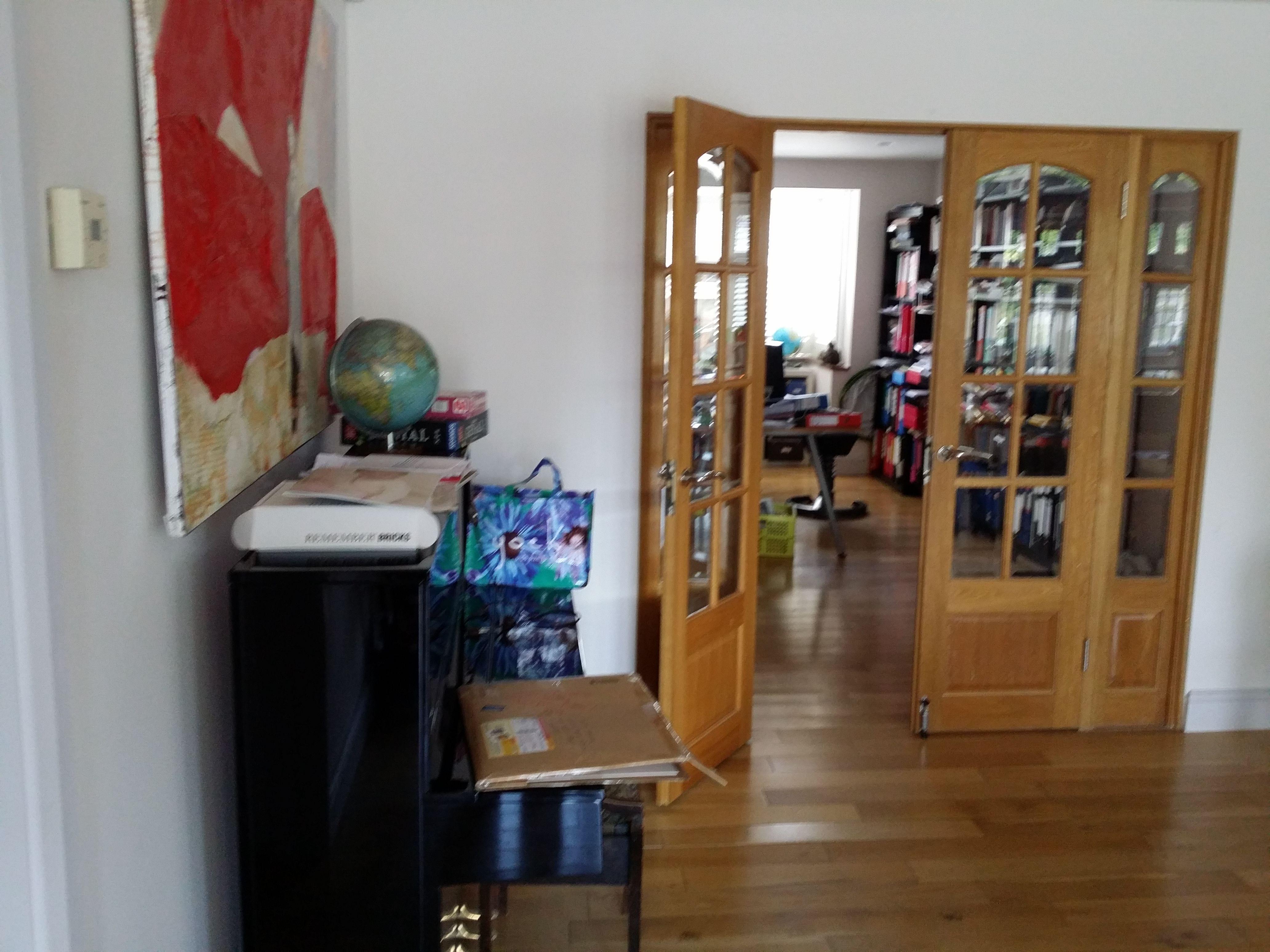 Existing Door into House