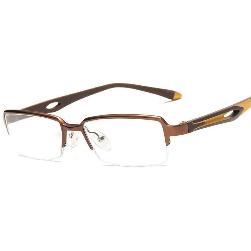 Rectangle Thin Eyeglasses Frames Clear Lens Fake Optical Glasses ...