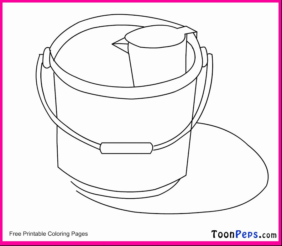 Bucket Filler Coloring Page Inspirational Fill A Bucket Coloring