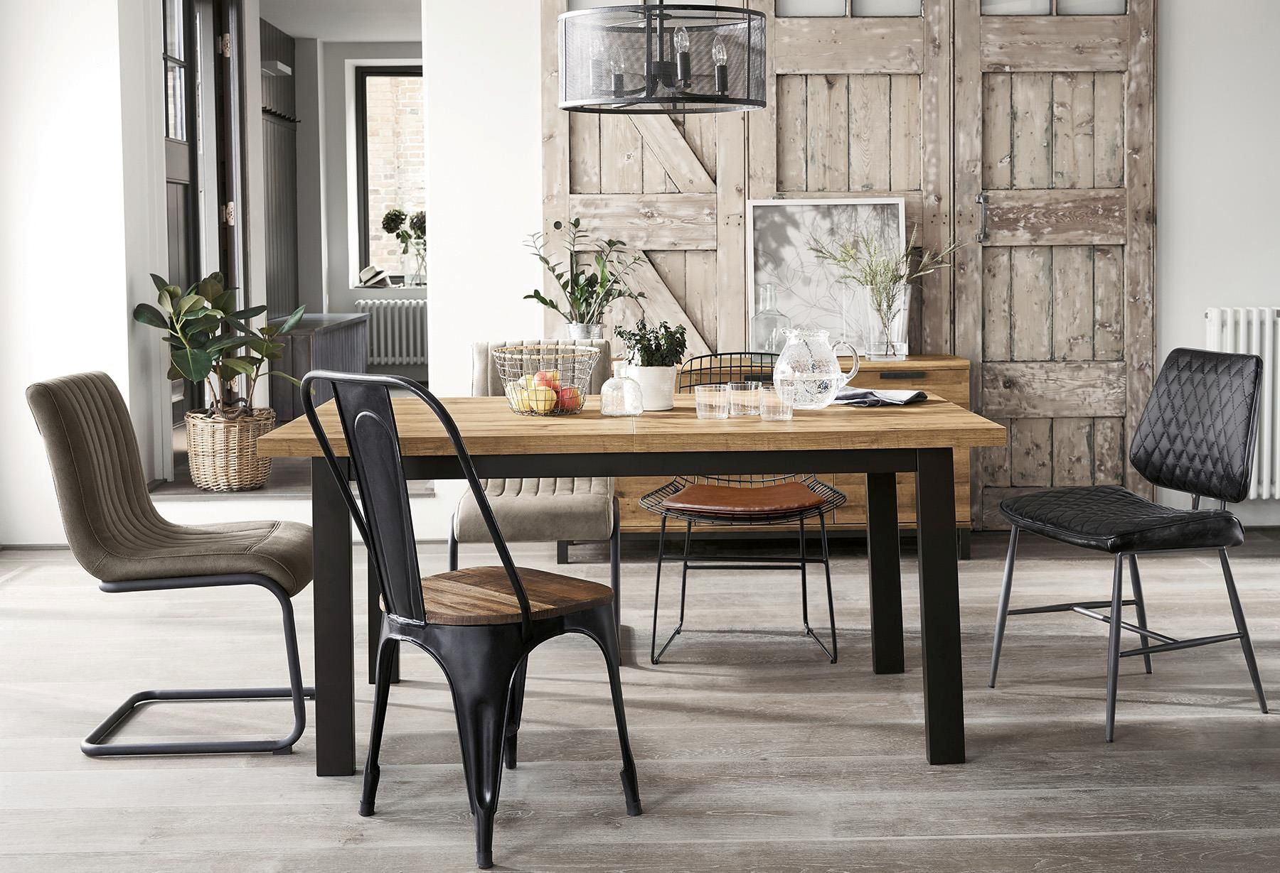 Buy Bronx 6 8 Seater Extending Dining Table From The Next Uk