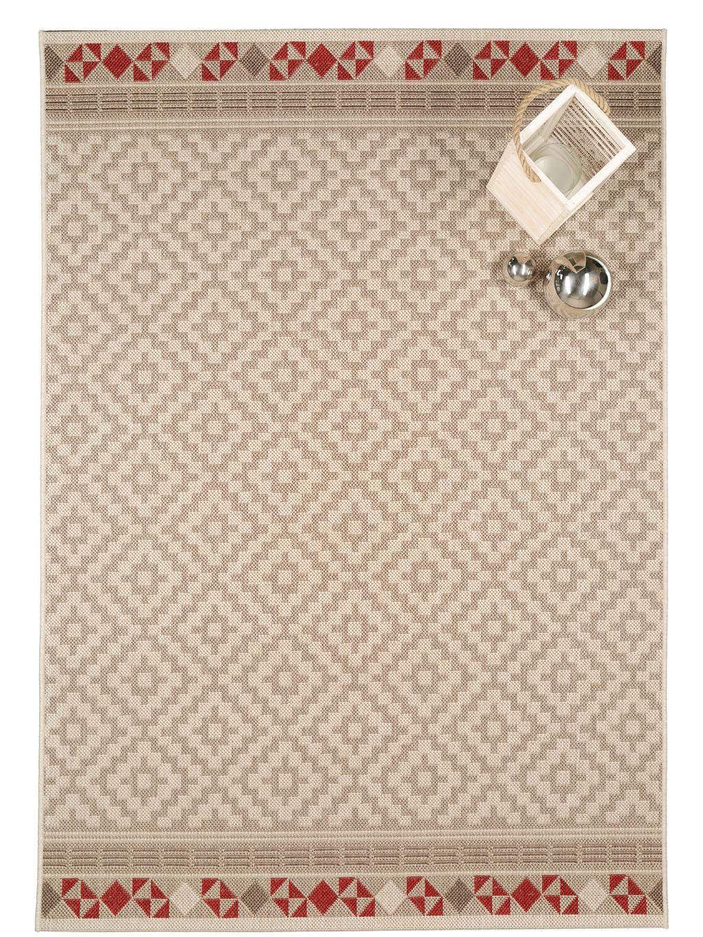 in outdoor teppich capri geometrisch braun ethno style teppiche pinterest. Black Bedroom Furniture Sets. Home Design Ideas