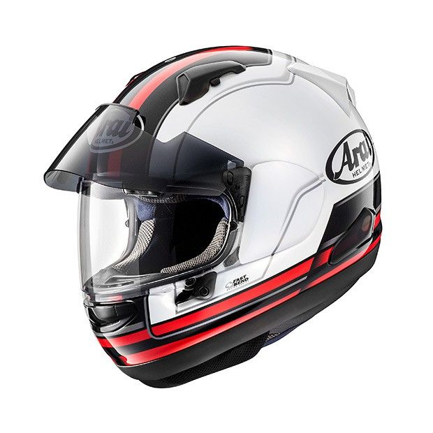 #Arai #QV-PRO #Stint #Red #Motorcycle #Helmet Buy your own on www.helmade.com