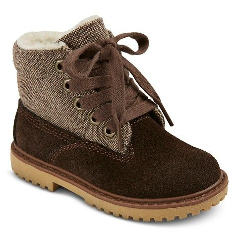 low priced 09100 3d505 Toddler Boys  Dan Boots - Brown