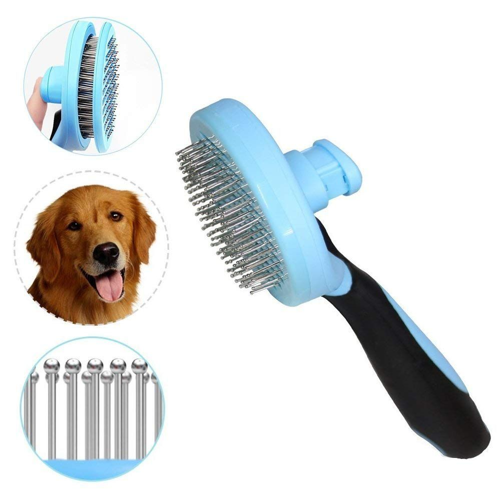 Pet Grooming Comb,Remove Loose hair Makes Dog Brush and Cat Brush Your Pet Look Cleaner and tidy,Pet Brush for Easy Cleaning and Grooming of Dogs and Cats