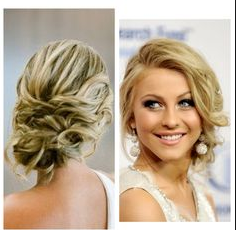 Front And Back View Wedding Hairstyles For Medium Hair Medium Hair Styles Hair Styles