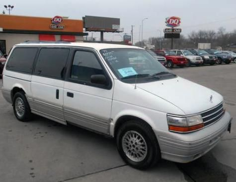 1995 Plymouth Voyager Le Passenger Minivan 1495 For Sale In South Dakota Plymouth Voyager Plymouth Mini Van
