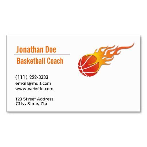 Basketball coach business card basketball coach business cards basketball coach business card colourmoves