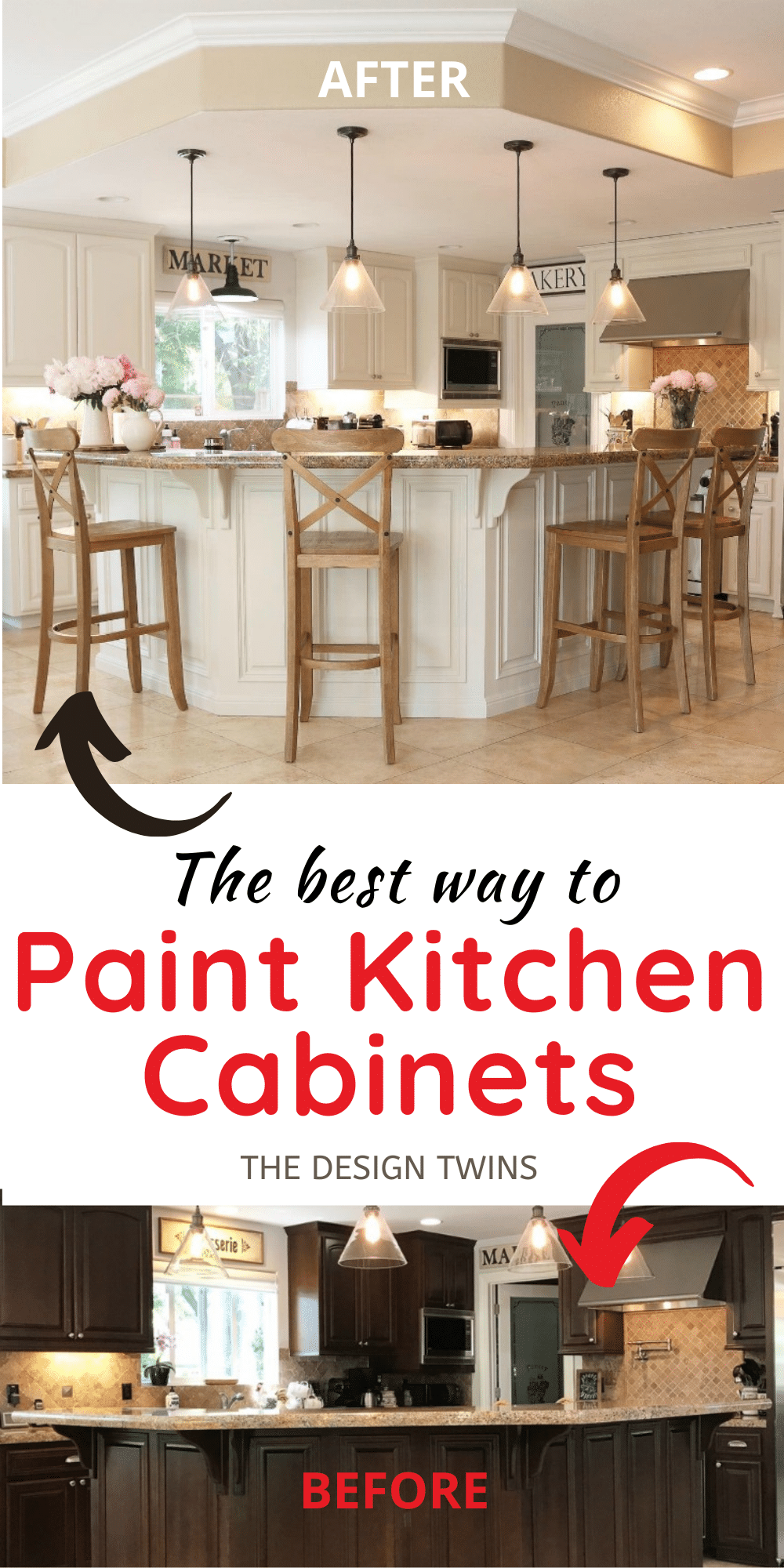 Step By Step How To Paint Kitchen Cabinets Side By Side Comparison Of Mineral Paint Vs Acrylic Paint Kitchen Paint Painting Kitchen Cabinets Kitchen Cabinets