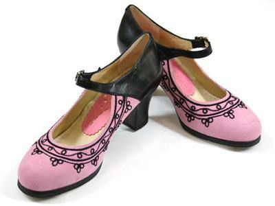 Professional Flamenco Shoes, Goyesco Shoes