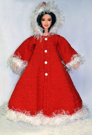 Xmas Knits Dolls Knit N Sew Pinterest Barbie Barbie