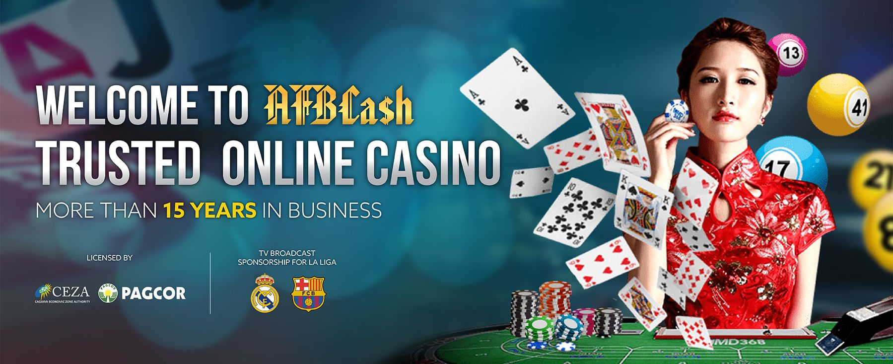 Top Trusted Online Casino Malaysia 2020 AFBCASH
