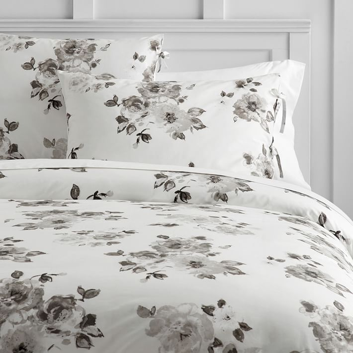 Junk Gypsy Country Blooms Duvet Cover Twin Ivory Multi