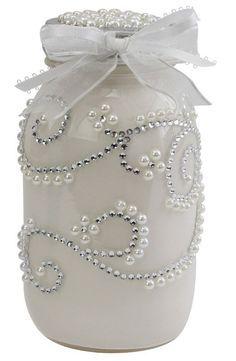 Nicole™ Crafts Wedding Jar #masonjar #wedding #diy: