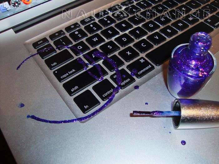 How To Deal With A Nail Polish Spill On Laptop Pinning Just Incase Wouldn T Use Remover White Macbook Though I Ve Ended Up