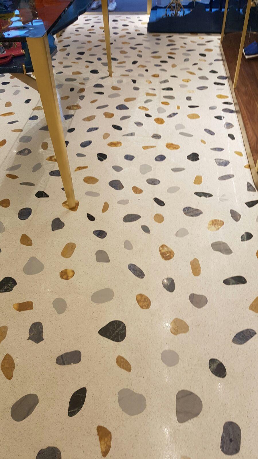 Piastrelle Seminato Alla Veneziana terrazzo alla veneziana terrazzo floor #terrazzoveneziano