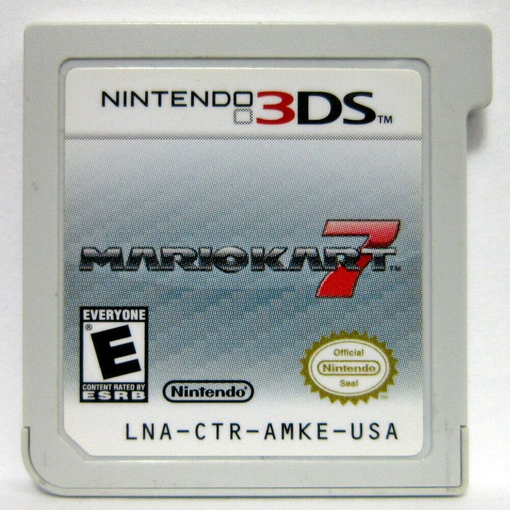 3DS Mario Kart 7 Nintendo Tested Cartridge Only 2011